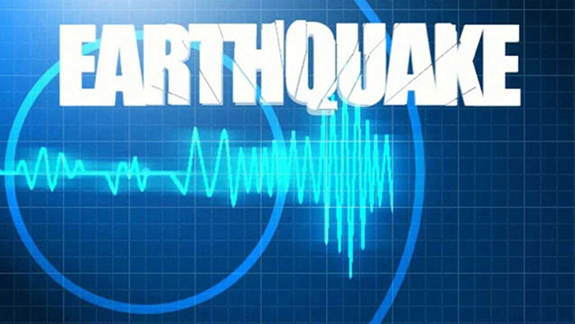 Aftershock measuring 5.2 in the Richter scale