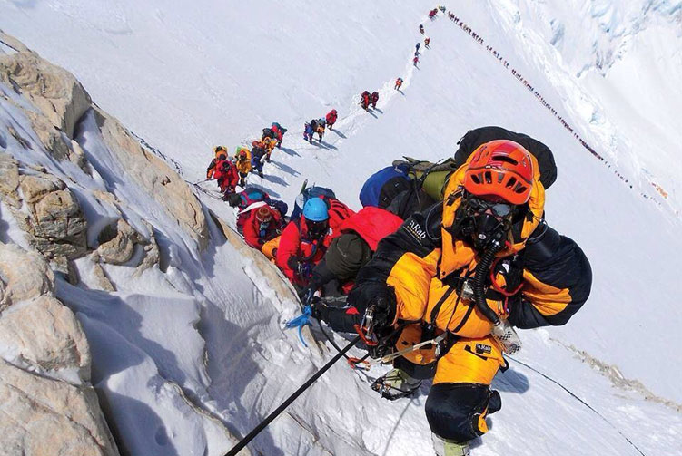 First Women Journalists Everest Expedition – 2018 in rigorous training
